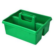 Wham Plástico Verde, Caja de herramienta de limpieza de cocina práctico utilidad Caddy almacenamiento ordenado