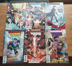 DC Comics: New 52: Superman/Wonder Woman #1-6 1st Prints