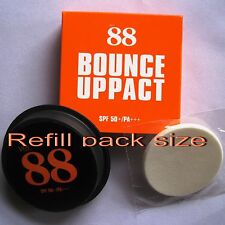VER 88 REFILL BOUNCE UP PACT FACE POWDER MAKE UP WATERPROOF SPF50 NO.#2 Net 12g.