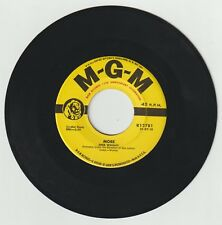 Wooley Sheb MORE 45 vinyl 7 in MGM records K12781