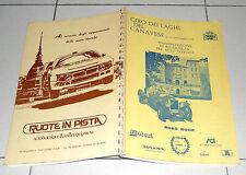 ROAD BOOK GIRO DEI LAGHI DEL CANAVESE 1989 Autostoriche Auto d'epoca Rallye