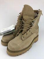 b860d7cd8b3 Bates Wolverine Warrior Leather Men Sz 8.5 Boots 05-D-0411 Tan | eBay