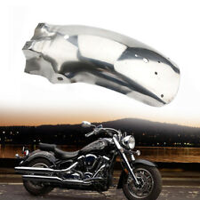 Silver Metal 43cm /17'' Rear Fender Mudguard Cover Univesal Fit For Motorcycle