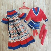 Vintage Skipper #3296 Red, White, and Blues COMPLETE Variation w/ Red Shoes MINT