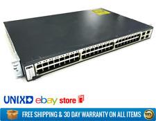 Cisco Catalyst 3750 Series 48-port 10/100 ports 4x SFP Uplinks WS-C3750-48TS-S