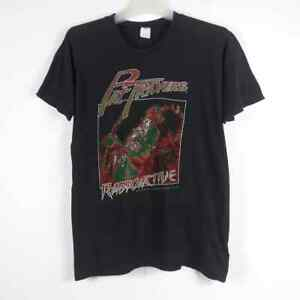 Vtg 1981 PAT TRAVERS T-Shirt World Tour Concert Usa Metal Rock van halen slayer