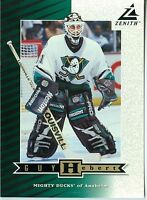 Guy Hebert 1997-98 Pinnacle Zenith 97 Dare to Tear 5x7 Anaheim Mighty Ducks #Z11