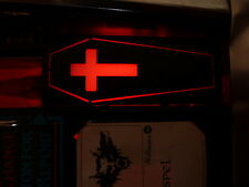 Bram Stokers DRACULA Pinball Custom ACTIVE Shooter Lane COFFIN Cover Mod