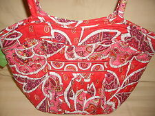 "VERA BRADLEY ""ROSY POSIES"" SWEETHEART SHOULDER BAG SUPER SALE NWTS"