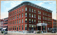 1910 Postcard: New Ithaca Hotel - Ithaca, New York NY