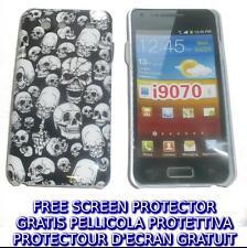 Pellicola+custodia BACK COVER TESCHI per Samsung I9070 Galaxy s Advance