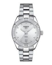 NEU Tissot T101.910.11.036.00 PR100 Damenuhr 12 Diamanten 0,045ct Saphirglas