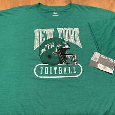 NEW Men's NFL NEW YORK JETS T-Shirt Sz 3XLT