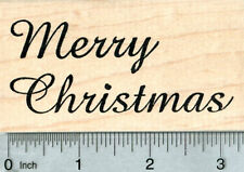 Merry Christmas Rubber Stamp K33321 WM