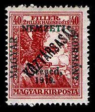 1919 HUNGARY #11NB4 SEMI POSTAL OVERPRINT - OGH -VF - CV$15.00 (ESP#9864)