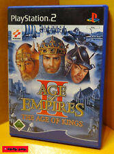 AGE OF EMPIRES II - THE AGE OF KINGS - PS2 Spiel - SONY PlayStation 2, gebraucht