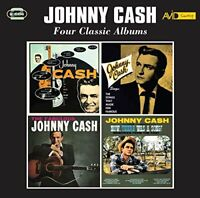 Johnny Cash - Four Classic Albums (With His Hot And Blue Guitar / [CD]