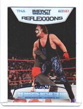 TNA Sting R38 2012 Reflexxions BLUE Premium Foil Insert Card SN 30 of 40