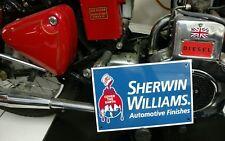 Sherwin Williams automobile car automotive paint sign