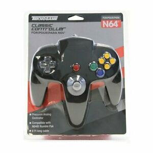 BLACK Controller Compatible with Nintendo 64