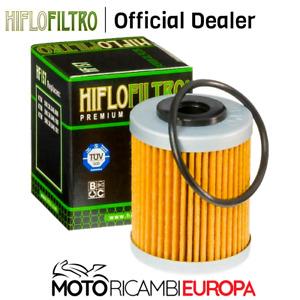 FILTRO OLIO HIFLO 157 PER KTM ENDURO/660 RALLY E FACTORY REPLICA/690 SUPERMOTO R