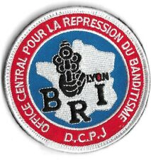 Ecusson POLICE NATIONALE B.R.I LYON