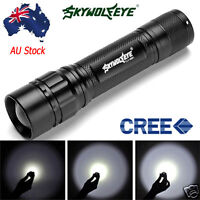 Zoomable 3000LM XML LED 18650 Rechargeable Battery Flashlight Torch Lamp