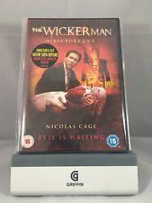 The Wicker Man Directors Cut Nicolas Cage DVD Region 2 UK Cert 15