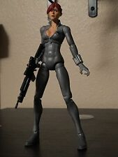 marvel legends avengers grey variant black widow rare from 2 pack exclusive