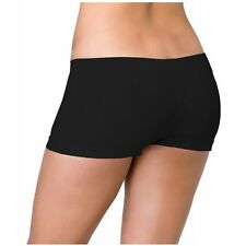 LA-2995 Sexy Black Opaque Boy Booty Shorts Panties Gogo Dancer Raver Rave Wear