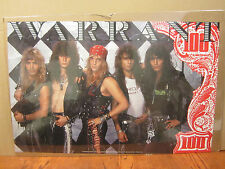 vintage Warrant poster original rock  and roll 1989  4244