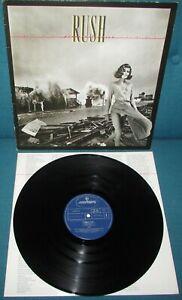 RUSH PERMANENT WAVES ORIG 1st UK 1980 MERCURY + Lyric Inner