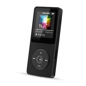 Agptek A02S 16Gb Mp3 Player With Fm Radio/Voice Recorder, 70 Hours Playback And