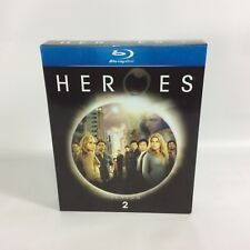 HEROES - Season 2  Complete Boxed Blu-ray Disc 2008 4-Disc Set NBS