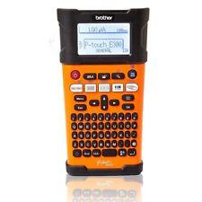 Brother E300VP P-touch Beschriftungsgerät QWERTZ-Tastatur Hinterbanddruck NEU