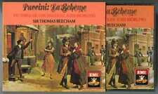 2 CDs box Victoria de los ANGELES, BEECHAM : Puccini Bohème / EMI England 1986