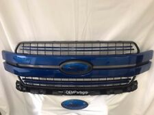 2018 + FORD F-150 Lightning Blue Genuine Ford Grille With Custom Oval Set