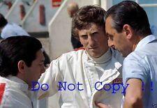 Rindt & Rodriguez & Salvadori Cooper F1 French Grand Prix 1967 Photograph
