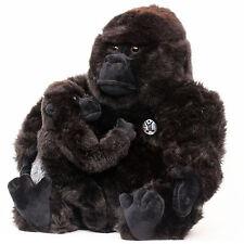Gorilla KIANGA mit Baby Plüschtier Menschenaffe 28 cm Affe Plüschaffe Plüsch