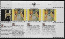 Nu Scott #VIENNE 123-24, bandes of 3 1991 KIT COMPLET FVF MNH LR