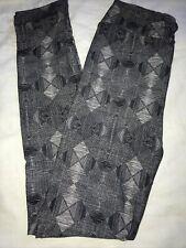LuLaRoe Kids Leggings NWT L/XL Large XLarge Black and Gray