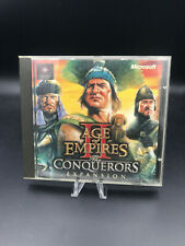 Age of Empires II THE CONQUERORS PC CD-ROM AOE 2 Add-On/Expansion Pack Microsoft