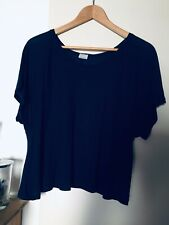 T-shirt Fluide bleu nuit Zara T.M