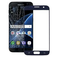 Samsung Galaxy S7 Vetro Ricambio per Schermo Touch Screen Frontale Blu