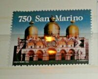 "FRANCOBOLLI LOTTO SAN MARINO 1994 ""SAN MARCO BASILICA"" NUOVO MNH** (C.8)"