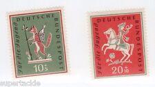 1958 Germany Sc #B360-61 ** MNH VF - Animals in stories stamp set