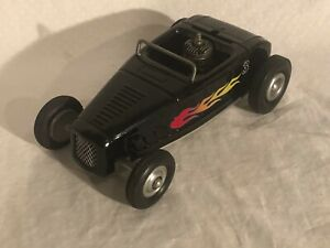 30's Ford Hot Rod Toy Tether Car Jalopy Cox Gas Powered Thimble Drome