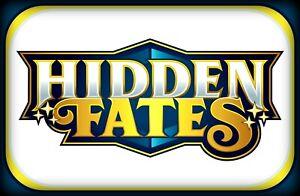 Sun & Moon HIDDEN FATES CODES ~ Pokemon Online Booster Code Cards TCGO Digital