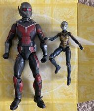 Marvel Legends Giant Man And Wasp - Complete BAF Build A Figure Ant Man