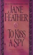 The Kiss Trilogy: To Kiss a Spy by Jane Feather (2003, Paperback)